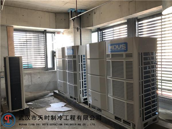 武漢美的中央空調施工
