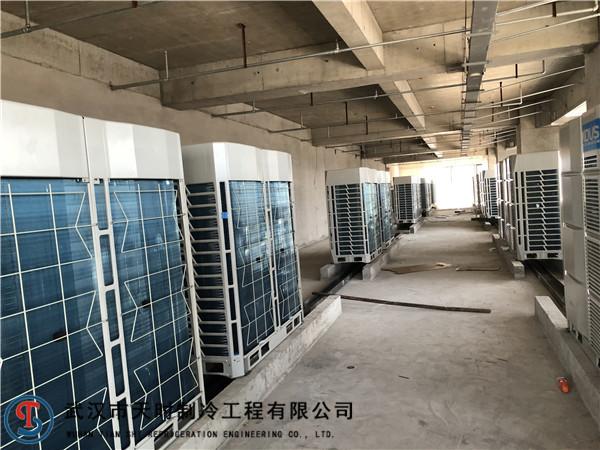 武漢美的戶式中央空調安裝工程