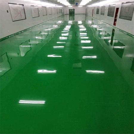 环氧地坪涂料 钢板刷地坪漆 环氧地坪工程